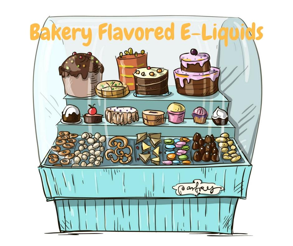 bakery flavored e-liquid