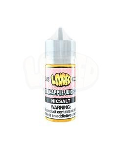 Loaded Cran Apple Iced Nic Salt White Background